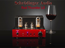 Red Thunder L6 Compact Vacuum Tube Audio Amplifier