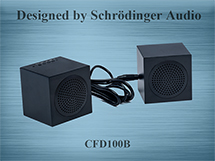 Rechargeable Stereo speakers, Aluminum Metal Housing Bluetooth Speakers